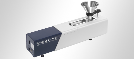 Measurement instruments for particle sizes and shape from 10 micron up to 400 mm